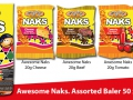 12 20g Naks Assorted