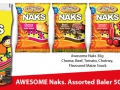 30g Naks Assorted