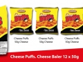 50g Puffs Cheese